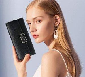 billeteras cuero mujer