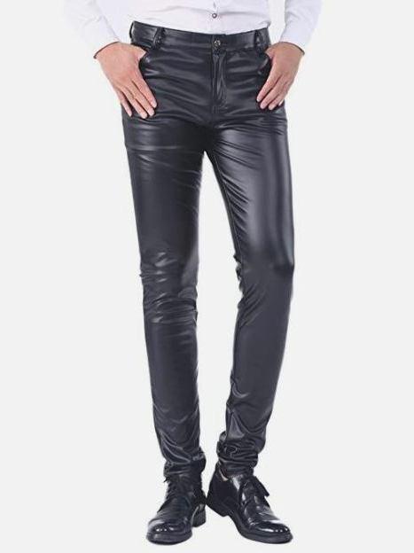 Pantalones De Cuero Hombre Y Como Elegir Uno Perfecto Para Ti