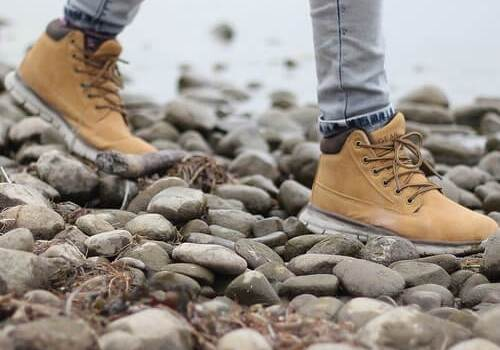 botas de cuero mujer