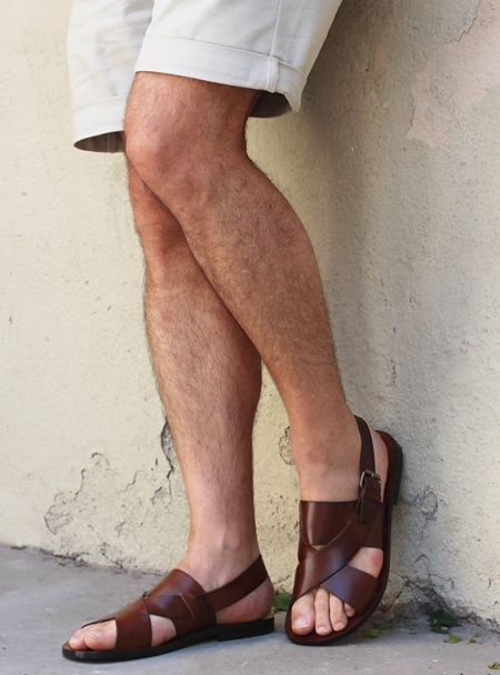 sandalias de cuero hombre2