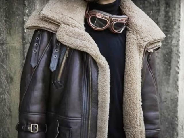 chaqueta cuero hombre