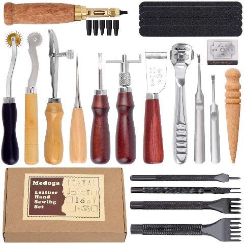 herramientas para cuero