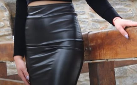 mejores faldas de cuero